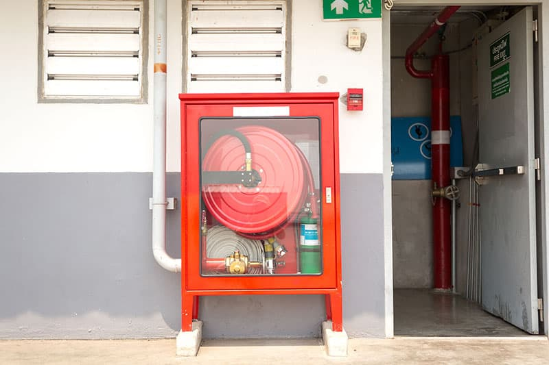 Sistemas de Extinción de Incendios: bocas de incendio equipadas